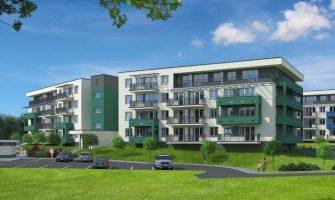 inwestycja deweloperska w trakcie budowy oferująca niedrogie nowe mieszkania w Nowej Hucie